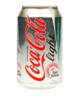 Boissons : Coca-Cola  Light (33 cl)