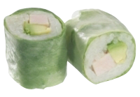 Roll's Spring : Dinde Fumée , Avocat et Mayonnaise