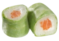 Roll's Spring : Saumon Avocat