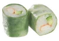 Roll's Spring : Surimi , Avocat et mayonnaise