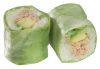 Roll's Spring : Thon cuit avocat et mayonnaise